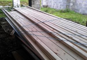 timber for roof