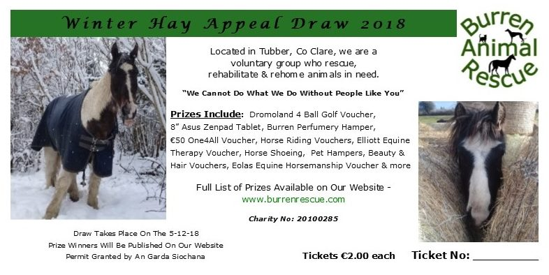 winter hay draw ticket 2018