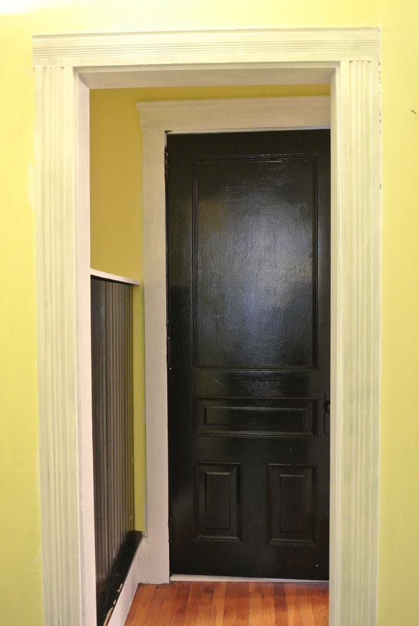 hallway with primer | Burritos & Bubbly