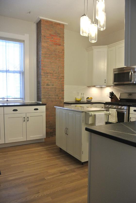 closer to done: urban farmhouse kitchen reno   Burritos & Bubbly
