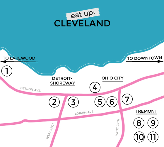 eat up: where to eat in Cleveland, www.burritosandbubbly.com