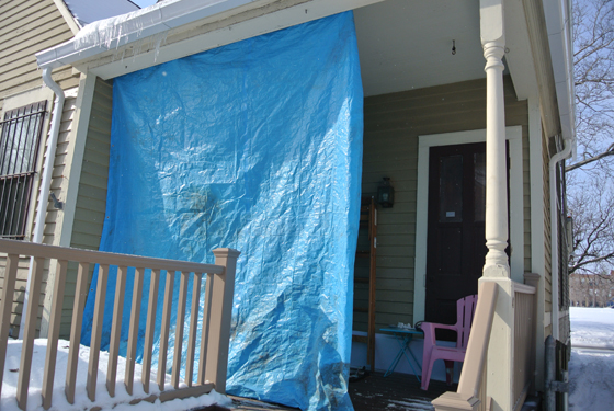 back porch tarp