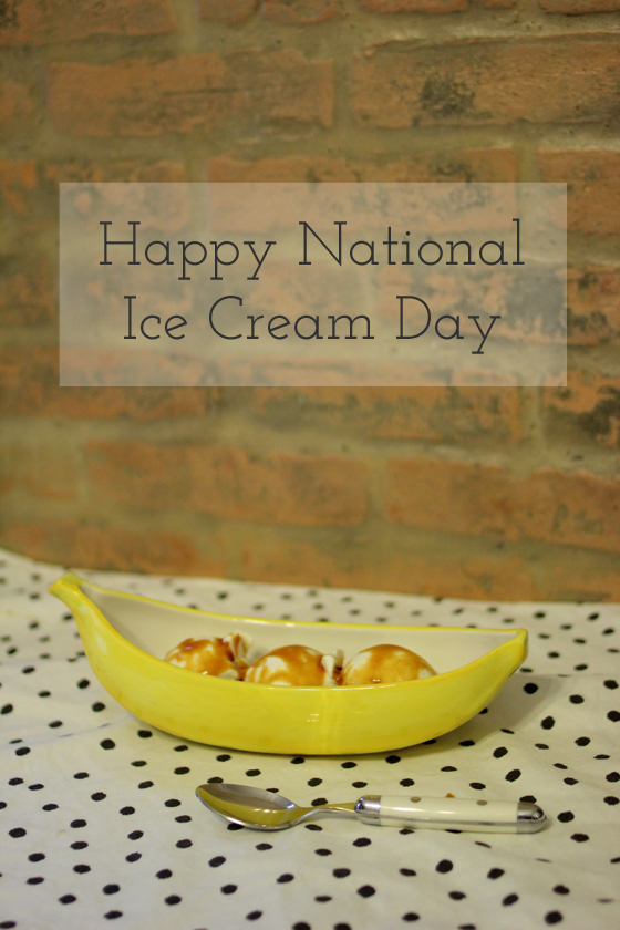 National Ice Cream Day | Burritos and Bubble