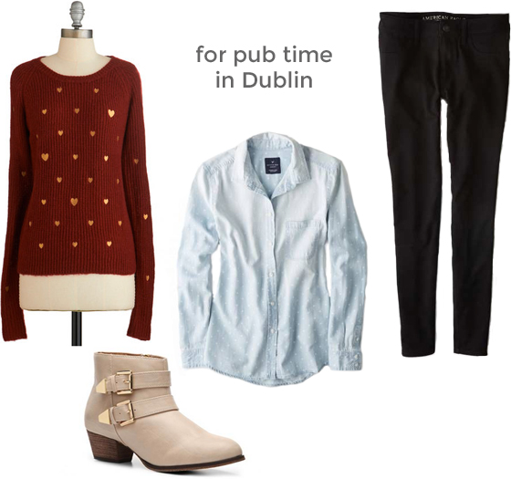 what to wear in Dublin, Burritos and Bubbly