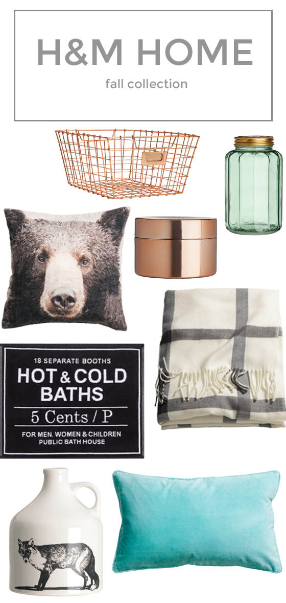 H&M Home Fall Favorites
