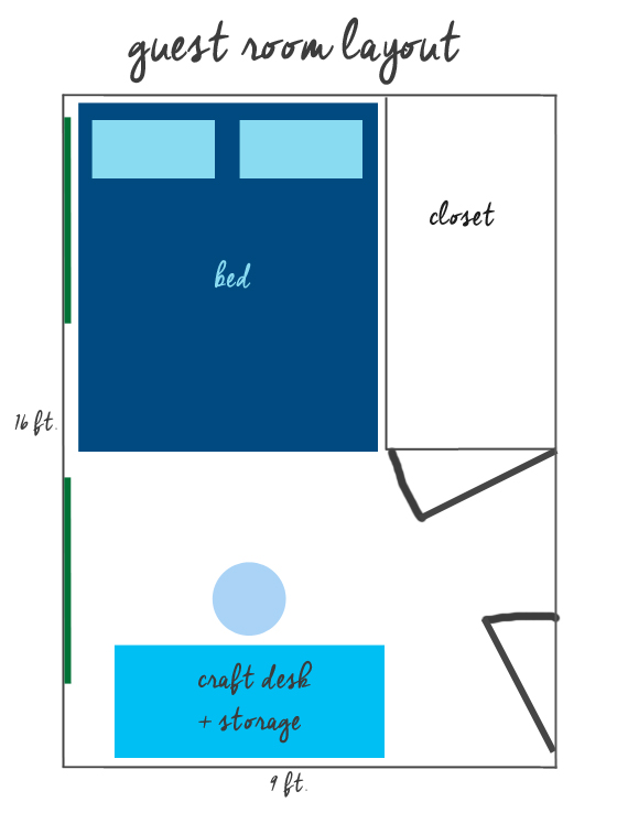 guest room layout