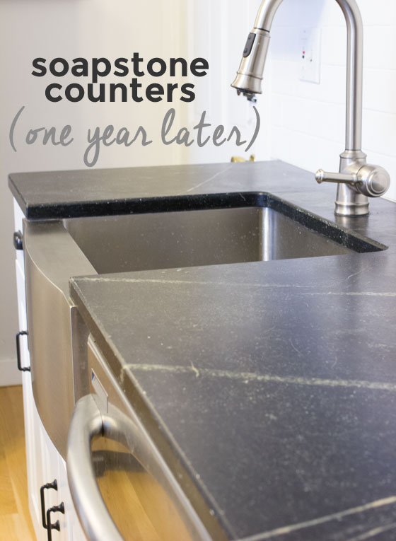 Choosing Soapstone Counters: One Year Later