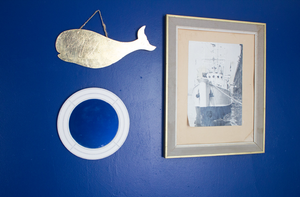 modern nautical guest room from Burritos and Bubbly