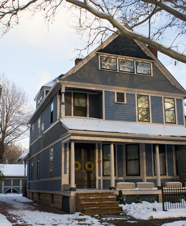 home tour: the exterior