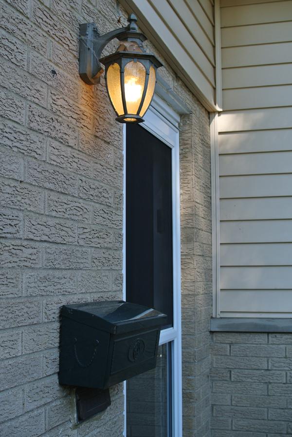 before: our front door