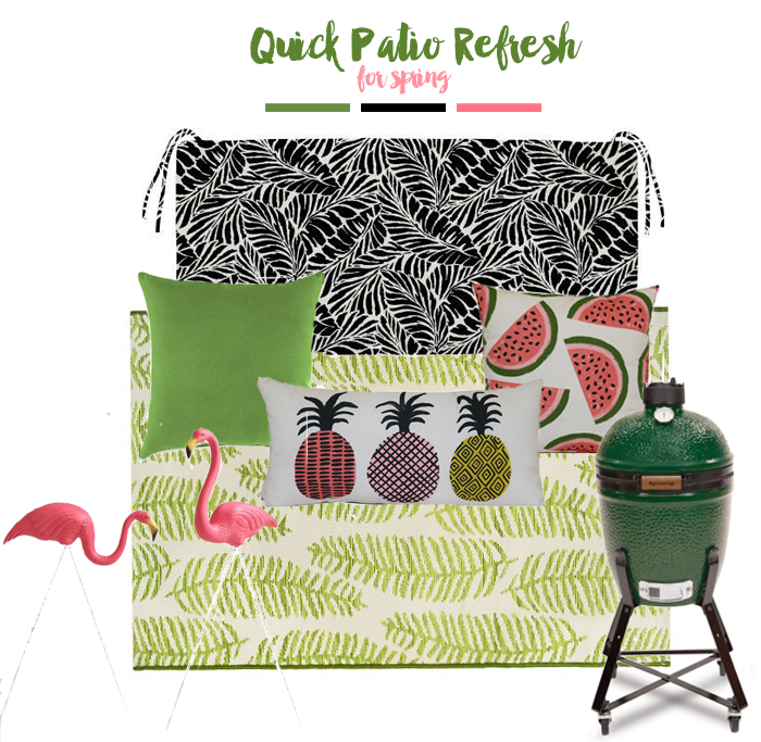 Quick Patio Refresh For Spring