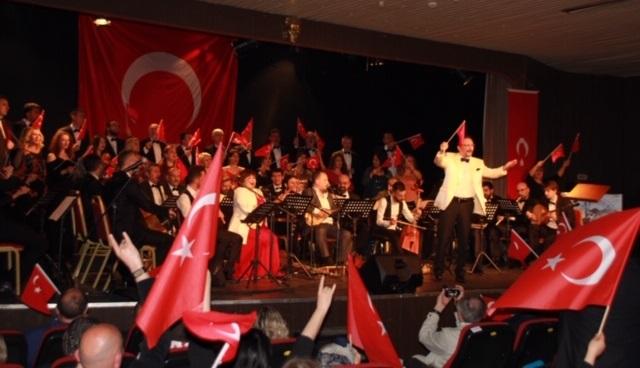 Bursa'da Türkçülük Bayramı Coşkusu