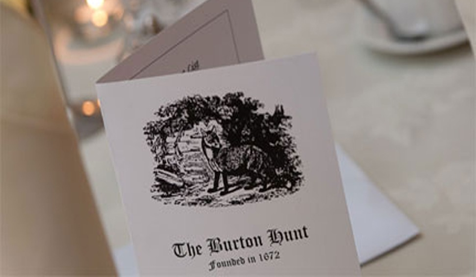 Burton Hunt 'Out of Season Dinner'