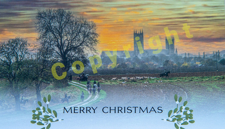 Burton Hunt Christmas Card