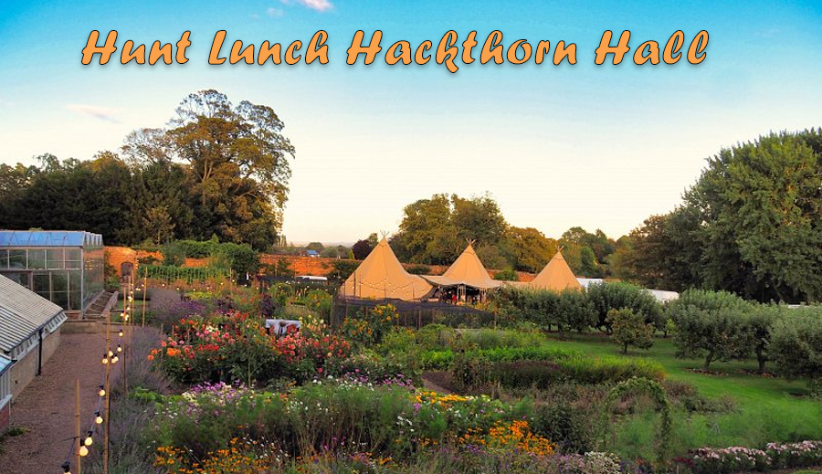 Hunt Lunch in Hackthorn Hall Gardens – Tickets on Sale Now