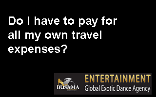 Do I have to pay for all my own travel expenses