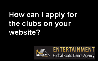 How can I apply for the clubs on your website?