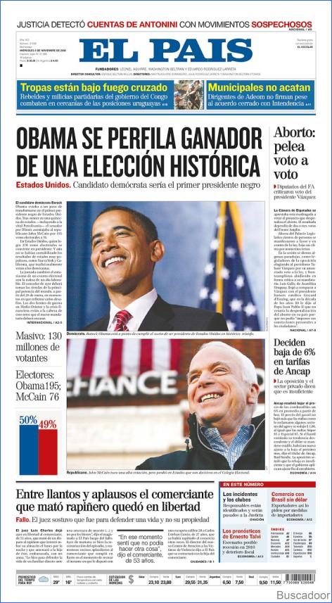 El País, de Montevideo, Uruguay