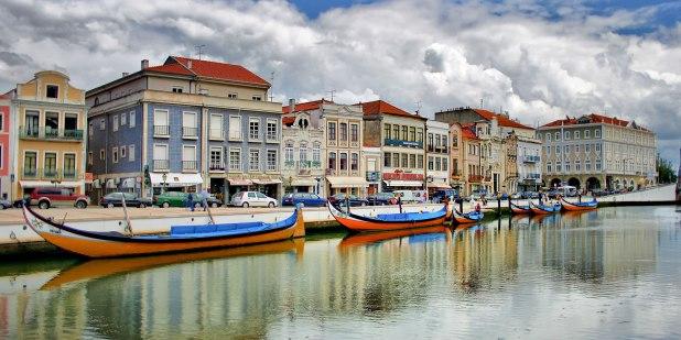 Ruta hacia Portugal