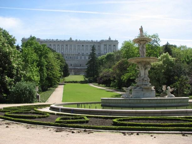 Jardines del Moro.  Parques de Madrid