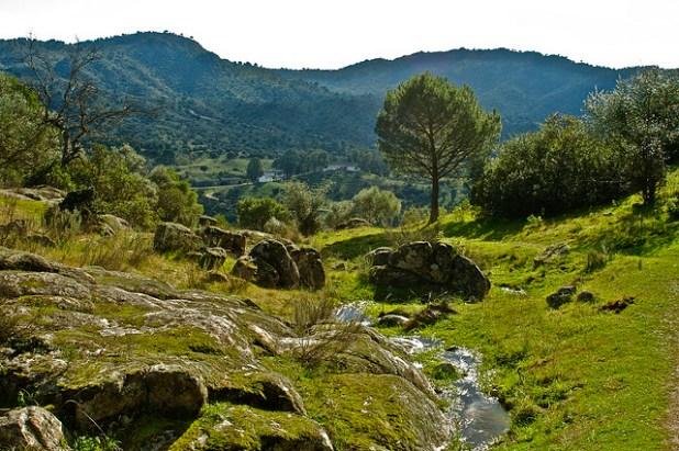 Vista de la Serrania