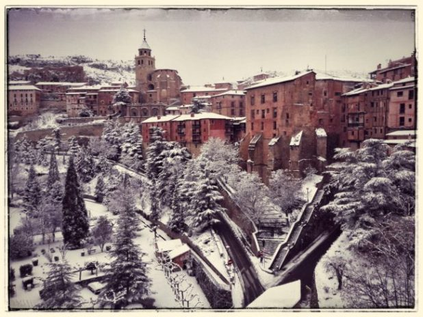 Albarracín nevado