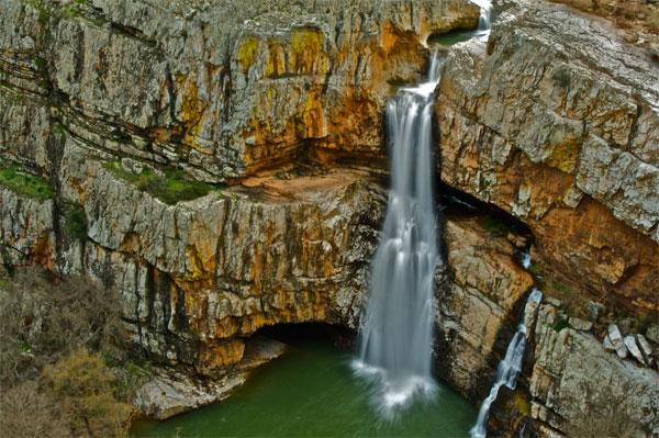 ruta por Despeñaperros, cascada de La Cimbarra