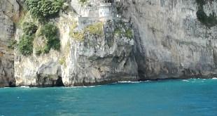 Faro del Caballo desde el barco