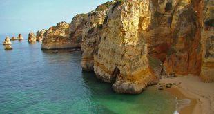 Playa de Dona Ana. Playas de Portugal