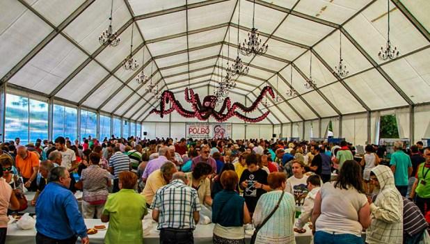 Feria del pulpo de Mugardos
