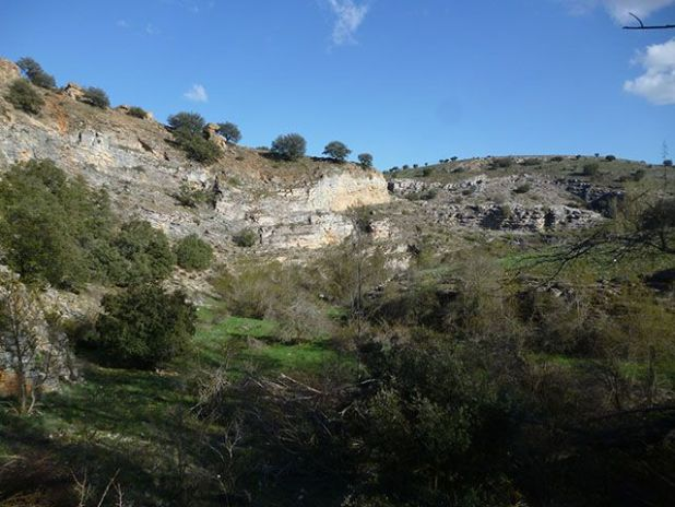 Cañón del río Talegones