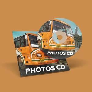 History of Buses (Photo CD Set)