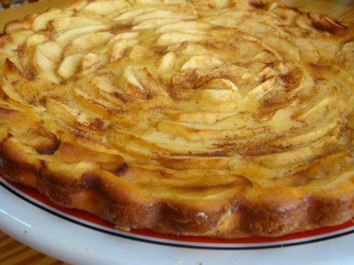 Bizcocho de manzana y canela