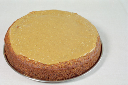 Torta rellena de coco