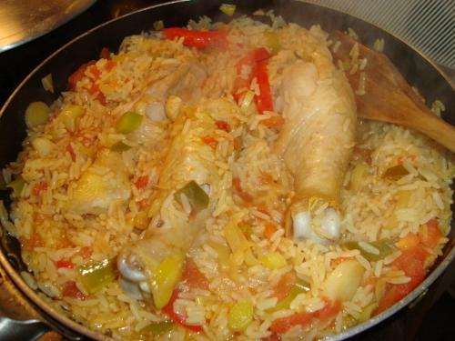 Cocinar el arroz