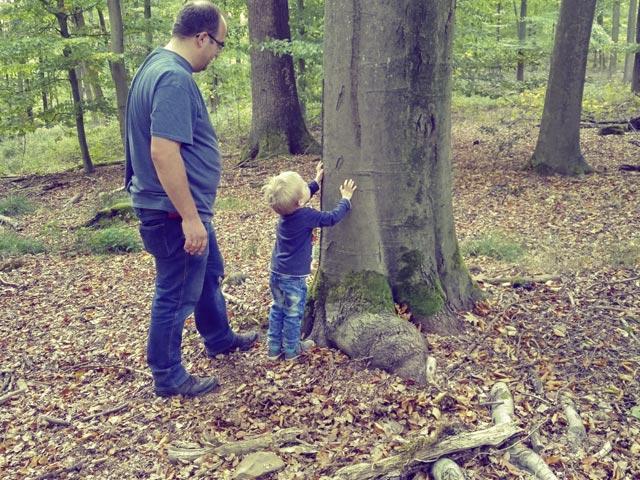 Kinder erobern den Wald