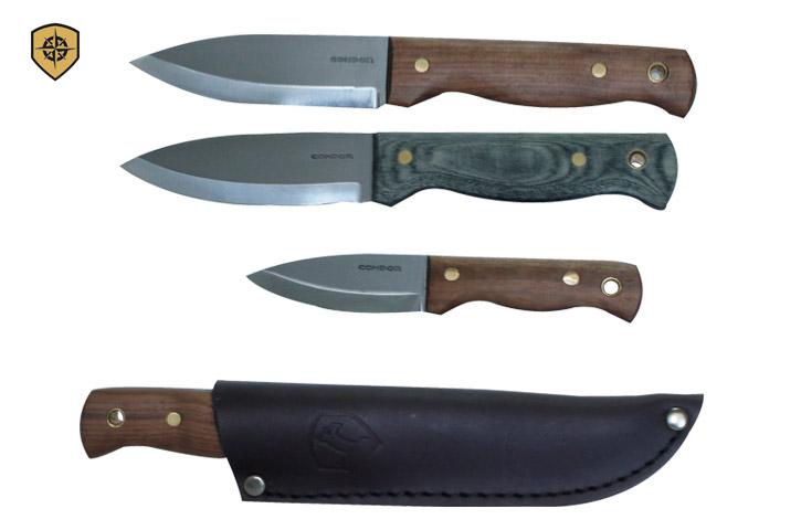 Condor Tool and Knife Bushlore knives