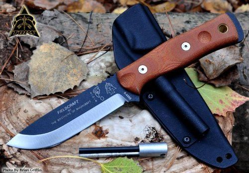 Tops Knives Brothers of Bushcraft Hunter Knife Review