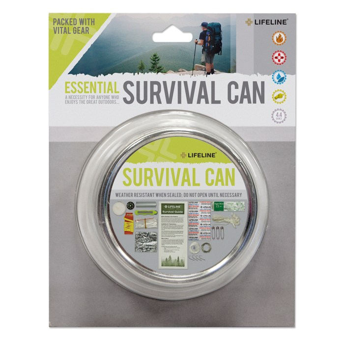 Lifeline 29-Piece Essential Survival Can Review