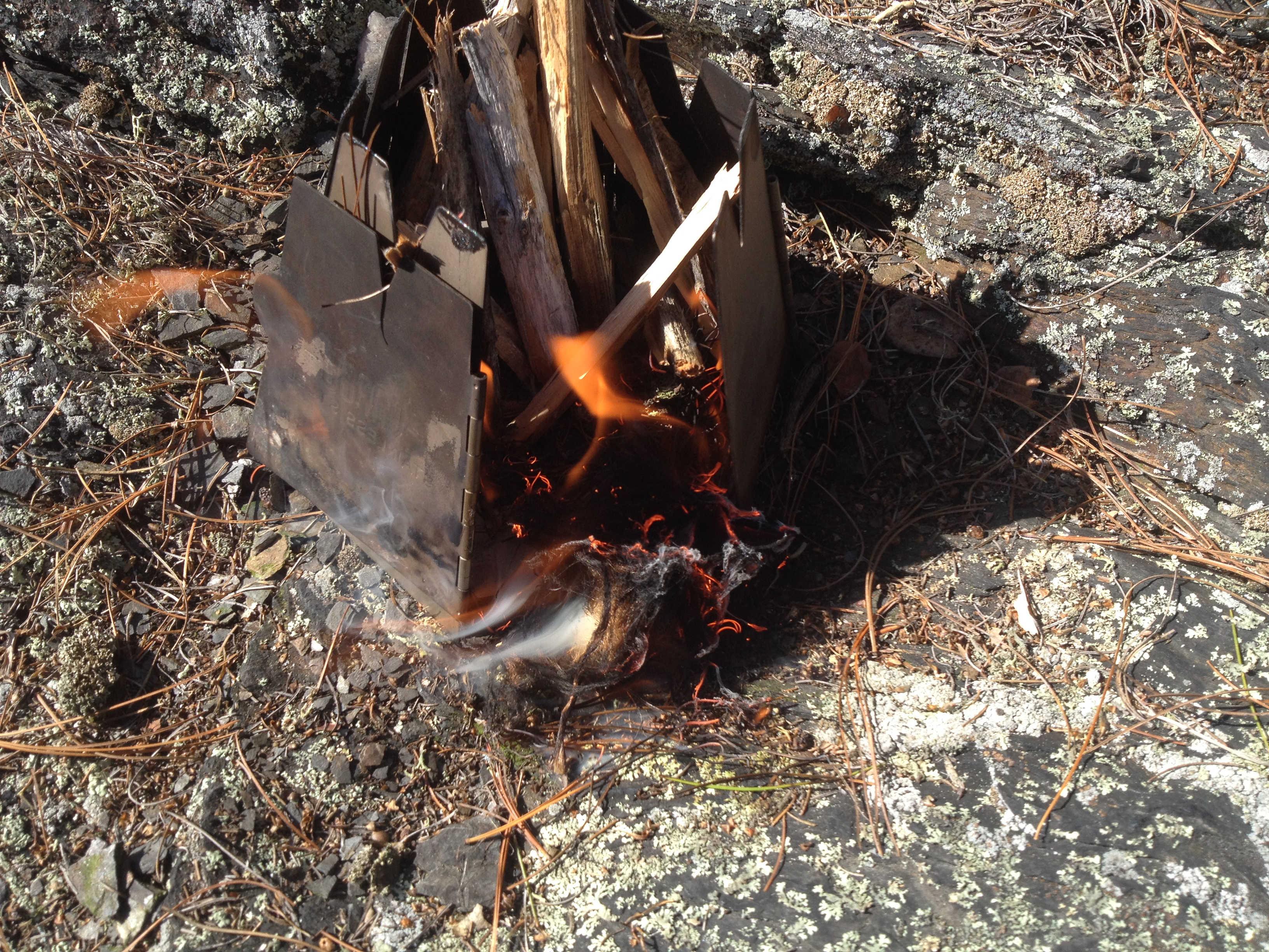 Flint and steel Vargo flame