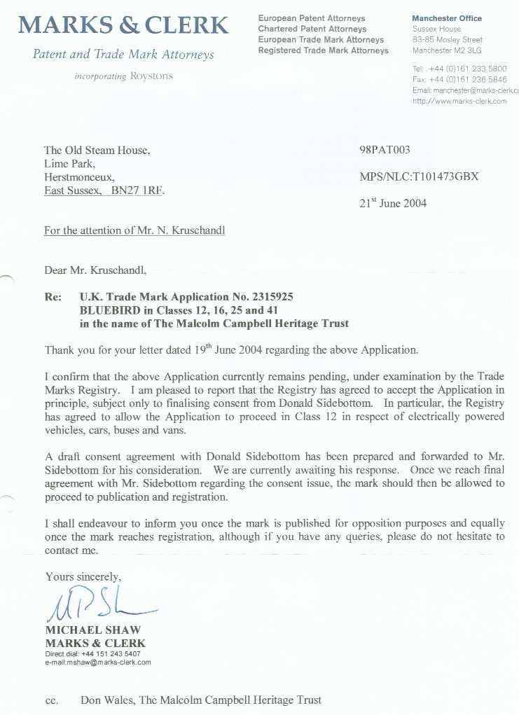 Trademark Consent Letter Letterjdi