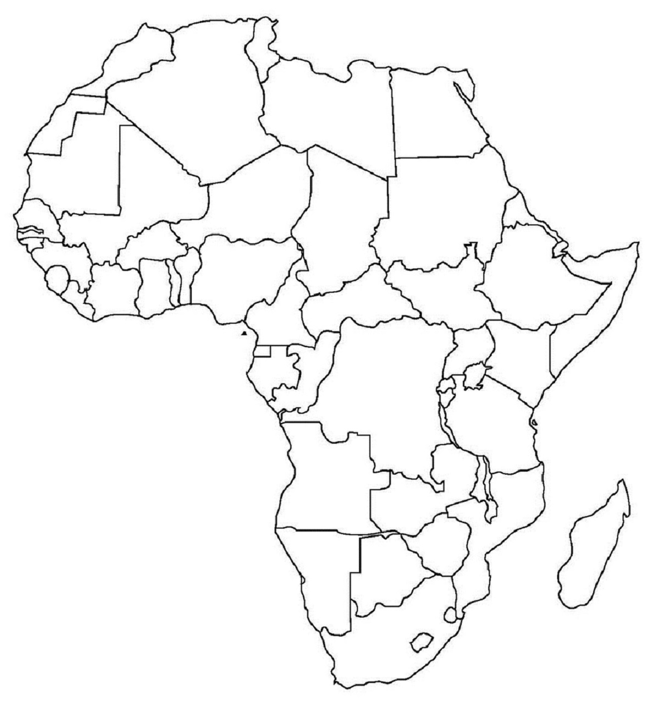 Worksheet Africa Map Worksheet Grass Fedjp Worksheet Study Site