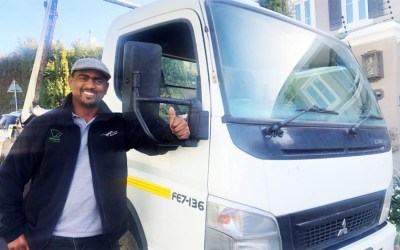 Waste services app connects truck owners to opportunity