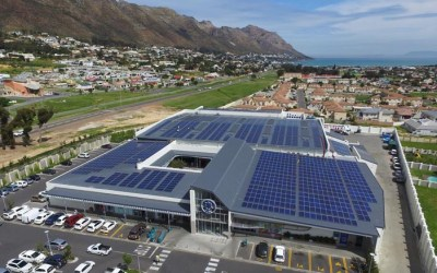 Gordon's Bay Mall shines with rooftop solar