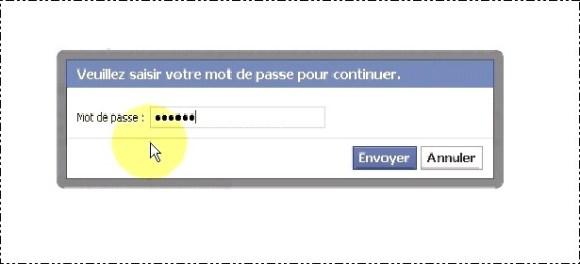 configurer votre compte facebook