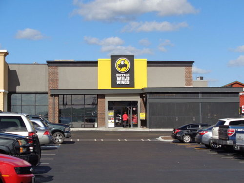 Casual dining restaurant Buffalo Wild Wings in Lake City, Columbia County, Florida
