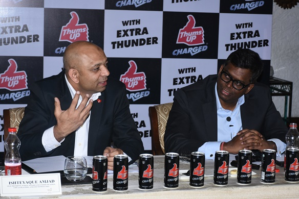 Thums Up Charged launch event