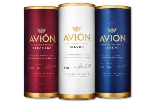 Tequila Avion cans