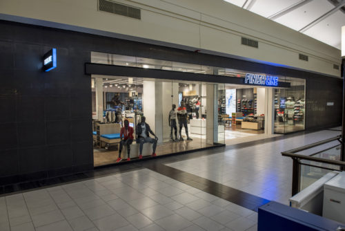 Storefront of US sportswear retailer Finish Line