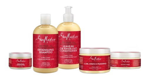 Shea Moisture Red Palm Oil hair care products